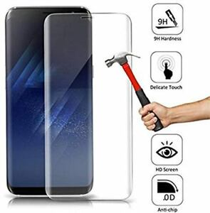 Samsung Galaxy S8/S9/S10 plus Note 8 ,9 S7 Edge 9H Toughened Glass full screen