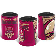 2017 State of Origin QLD Queensland Maroons Can Cooler Stubby Holder Man Cave
