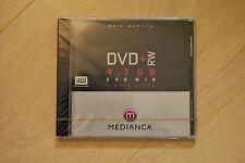 5 DVD +RW Médianca 240 mn 4,7GB neufs sous cellophane