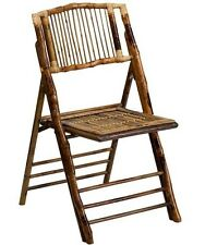 LOT OF 8 NEW AMERICAN CHAMPION BAMBOO FOLDING CHAIR