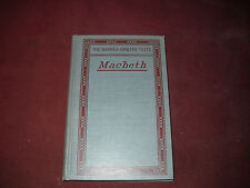 1914 Book ShakespearesTragedy of Macbeth Edited by Clarence W. Vail -Beautiful