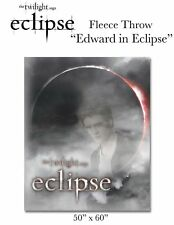 ECLIPSE FLEECE THROW BLANKET Edward Cullen twilight NEW