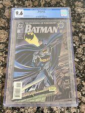 DC BATMAN THE BEGINNING OF TOMORROW #0 1994 CGC 9.6