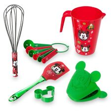 Disney Parks Store Mickey Mouse & Friends Holiday Baking Set Cookie Cutter NEW
