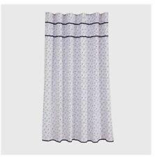 "THRESHOLD Floral Printed Shower Curtain Navy, Standard, 72"" x 72"""