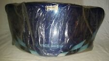 "New Polaris Edge Blue Checkered Low 12"" Windshield 2873264"