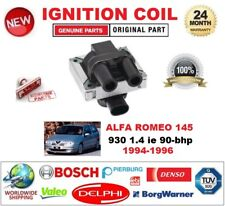 FOR ALFA ROMEO 145 930 1.4 ie 90-bhp 1994-1996 IGNITION COIL 2 PIN CONNECTOR