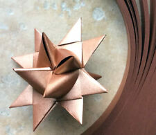 Paper Strips to make 3D Stars (MoravianFroebel)Copper Sheen 3/4 in wide over 200