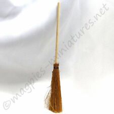 Dolls House 12th scale Broom : witch, broomstick, garden