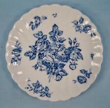 Devon Sprays Blue Saucer Johnson Brothers England Made Transferware Flowers (O)