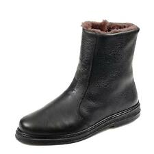 Jomos Herren Winterstiefel Boots Winterschuh Schuhe Glattleder Laufsohle  schwarz 58d977d0f3
