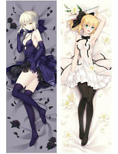 Anime Fate stay night Saber Dakimakura Pillow Case Cover Hugging Body 150*50cm