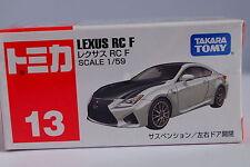 Takaratomy Tomica #13 Lexus RC F 1 59 Diecast Car