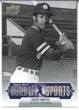 2011 Upper Deck World Of Sports U-Pick BASE Cards (1-200)