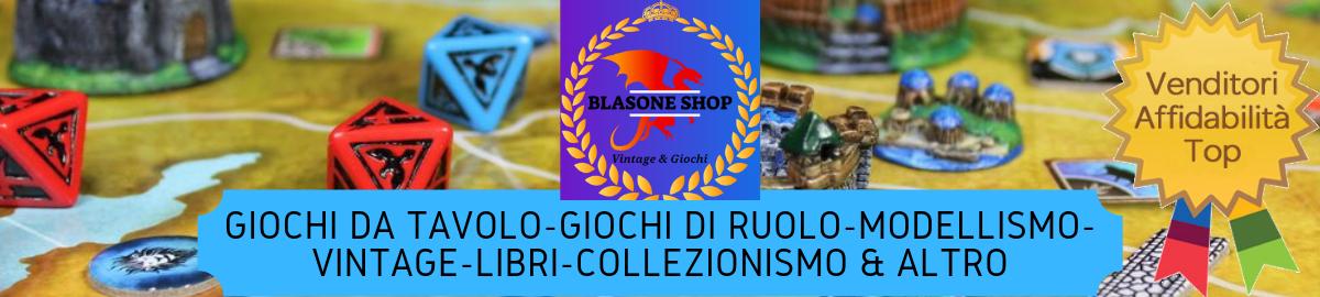 BLASONE SHOP VINTAGE & GIOCHI