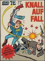 Kauka Super-Serie Band Nr. 72 Die Blauen Boys: Knall auf Fall (1974) Z 1-2