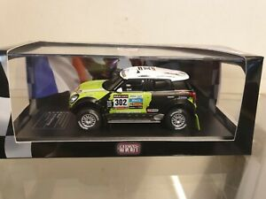 IXO / ALTAYA - RALLY DAKAR 2013 - MINI ALL4 RACING - 1/43 SCALE MODEL  CAR