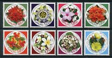 Curacao 2018 MNH Flowers 8v Set Flora Nature Flower Stamps