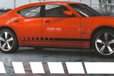 2006-2010 Dodge Charger & Magnum srt8 Strobe Side Panel Stripes Decals 07 08 09