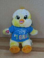 Build a Bear Workshop Cheerful Chirps Chick Plush Chicken W/1 Grade Graduate Top