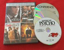 American Psycho   Fall Time   Confidence   Rain of Fire (Dvd, 2010 4 Films)