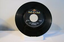 """45 RECORD 7"""" - THE ANIMALS - DON'T BRING ME DOWN"""