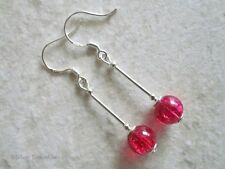 Lab-Created Heat & Pressure Drop/Dangle Fine Earrings