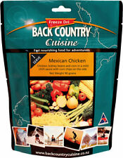 Back Country Cuisine Mexican Chicken 90g Freeze-Dried Meal (Gluten Free)