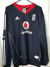 Men's Adidas ClimaLite Cricket Team England Long Sleeve Jersey Shirt Size L