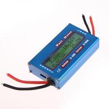 Simple DC Power Analyser Watt  Volt Amp Meter 12V 24V Solar Wind Analyzer SS6