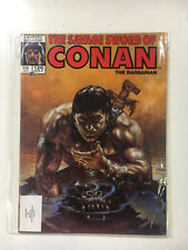 Savage Sword of Conan #126 NM- 1986 Marvel Magazine Gorilla