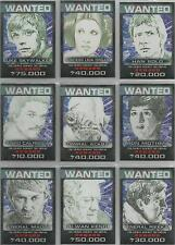 """Star Wars Chrome Perspectives - """"Rebel Wanted Posters"""" 10 Card Chase /Insert Set"""