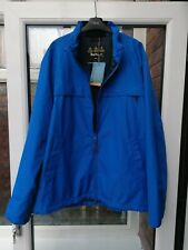 BNWT Mens Barbour Skerries Waterproof Jacket Blue XXL rrp£160 MWB0682