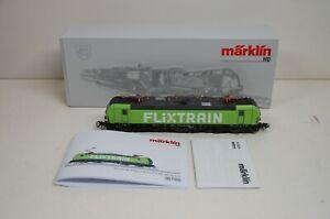 """Märklin H0 36186 E-Lok BR 193 Vectron """" Flixtrain """" digital mfx  / Sound in OVP"""