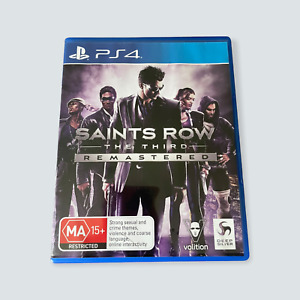 Saints Row: The Third Remastered for Sony PlayStation 4/PS4/PS5 - VGC/AUS/PAL 🐙