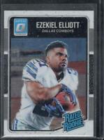 Ezekiel Elliott Donruss Rated Rookie Optic #168 Card RC Dallas Cowboys