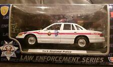 FORD  YORK REGIONAL POLICE CAR 1:24 MODEL CAR MOTORMAX 76426