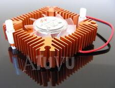 Dissipateur thermique 55mm Ventirad CPU GPU Chipset VGA Video Aluminium Bronze