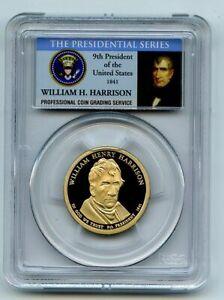 2009 S $1 William Henry Harrison Dollar PCGS PR70DCAM