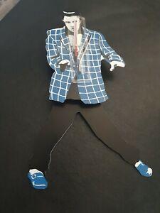 Elvis Presley Pendulum BLUE and White Suit Wall Clock