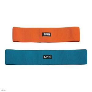 SPRI 2PK Hip Bands Lower Body Resistance Bands Light/Medium 02-71834