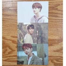 Feeldog JihanSol Kijung 3 Postcards Set UNB 1st Mini Album Boyhood Limited Edit.