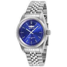 Invicta Women's Watch Specialty Quartz Blue Dial Stainless Steel Bracelet 29398