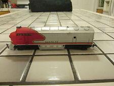 Ahm Santa Fe dummy engine Ho scale