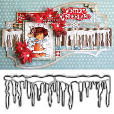 Christmas Icicles Metal Cutting Dies DIY Craft Card Stencil Album Cuts Die Decor