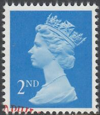 GB Stamps 1990 Machin Definitive 2nd Bright Blue, 1 Right Band, VFUsed, S/G 1446