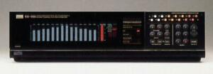SANSUI SE-88 Vintage Stereo Digital Equalizer/Spectrum Analyzer 1986
