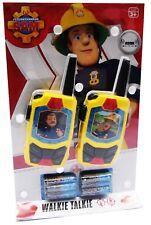 Dickie Sam Feuerwehrmann Walkie Talkie Kinder Spielzeug Funkgerät 203093002