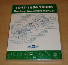 1947 1948 1949 1950 1951 1952 1953 1954 Chevrolet Truck Factory Assembly Manual