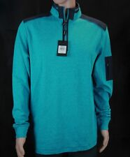 NWT SALE $69.95 Bugatchi Men/'s 1//4 Zip Sweater Retail $165..